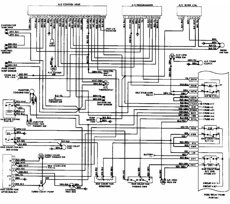 схема климат контроля