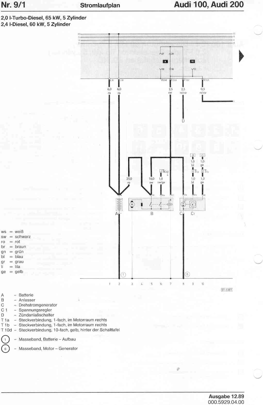 65 Kw Wire Diagrams Simple Guide About Wiring Diagram 10 Onan Audi 100 200 Factory Rh Sizov Org