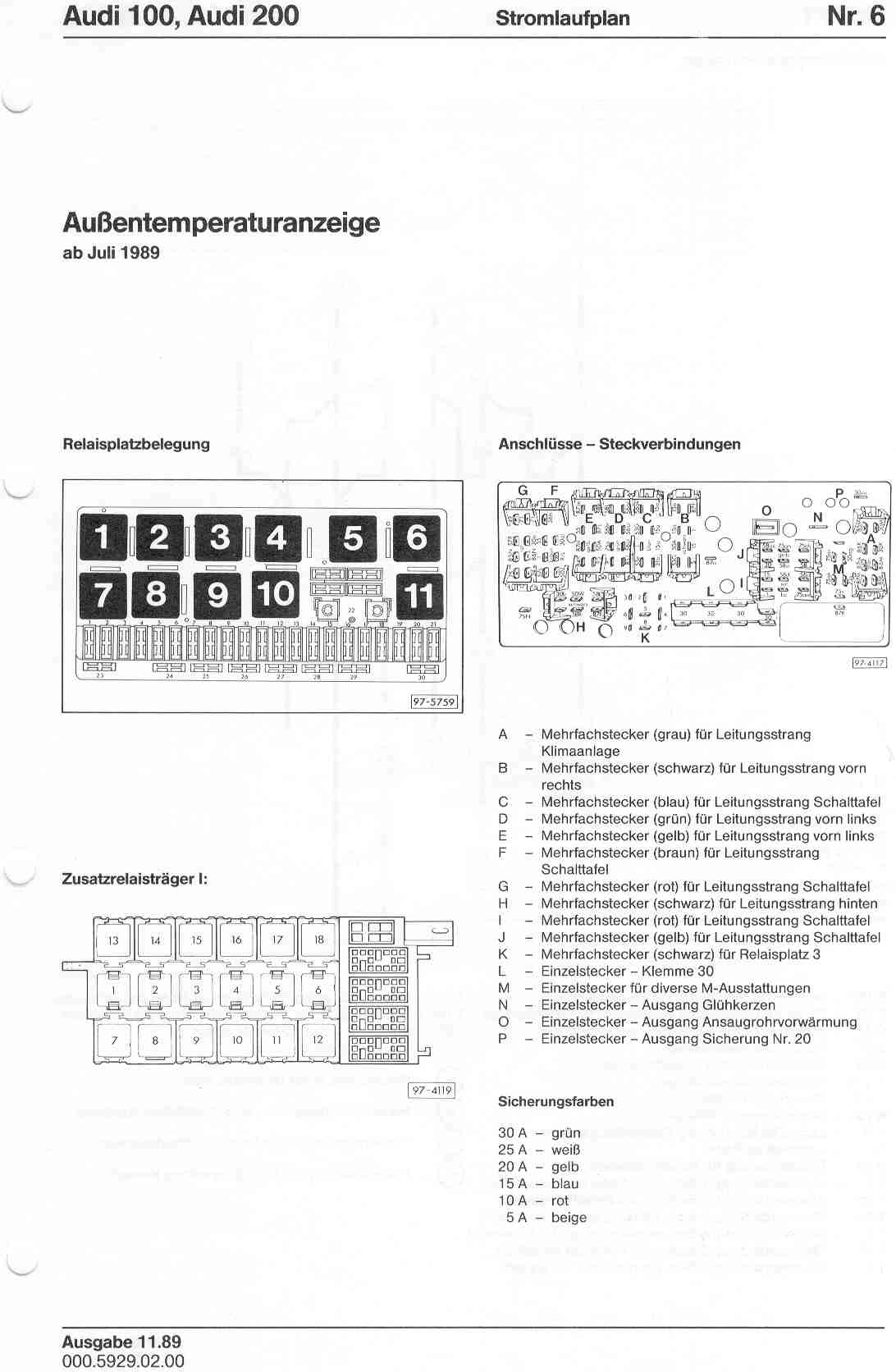Audi 2 7 Wiring Diagram Schematics Diagrams A4 100 200 Factory Rh Sizov Org 1998 Fuse Box Location