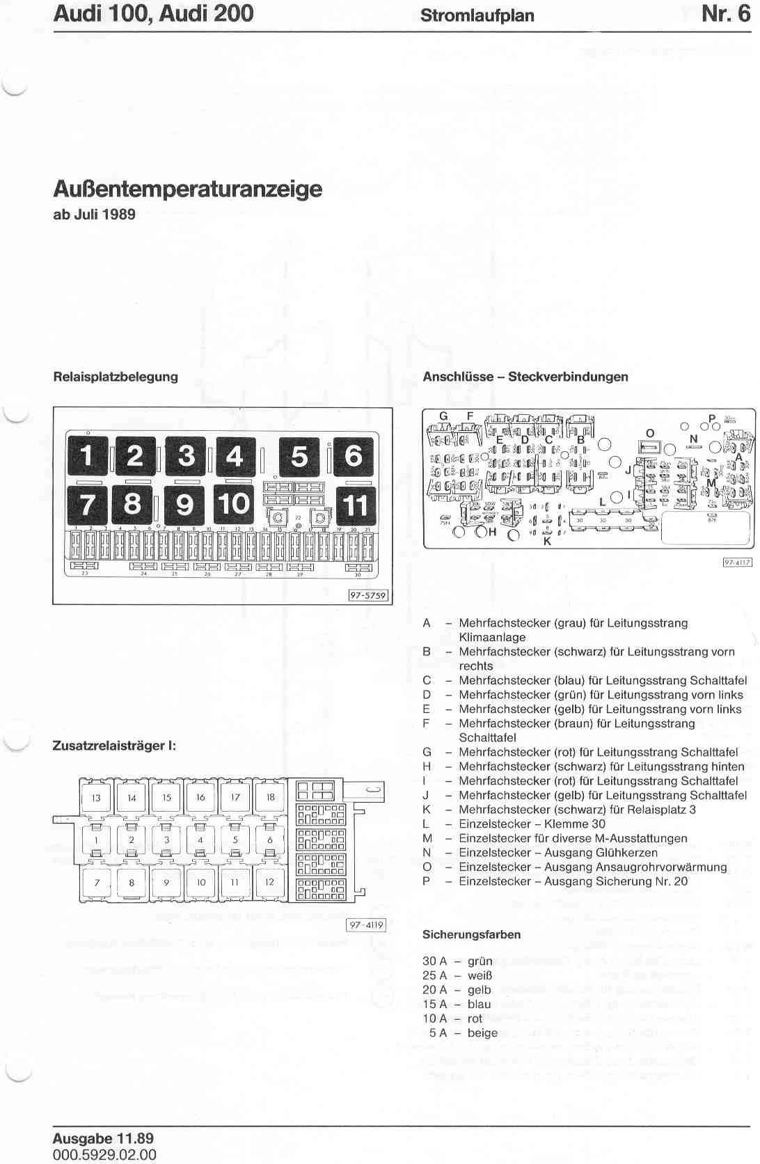Audi 2 7 Wiring Diagram Schematics Diagrams A4 100 200 Factory Rh Sizov Org 1998 Fuse Box Location