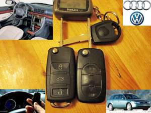 Привязка ключей A4 B5